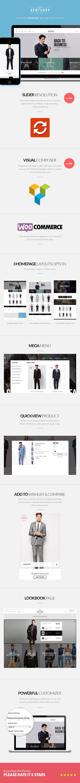 GentShop - LookBook WooCommerce WordPress Theme - 5