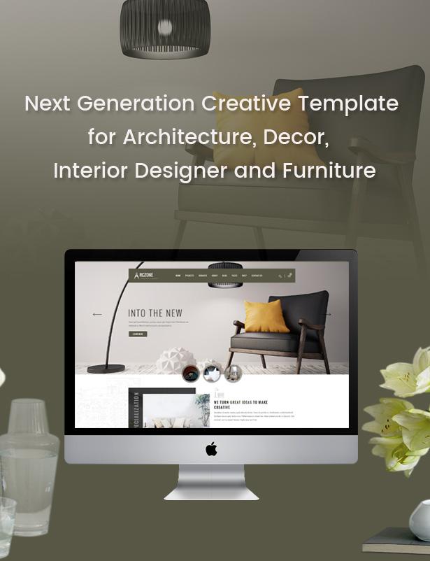ARCZONE - Interior Design, Decor, Architecture HTML Template