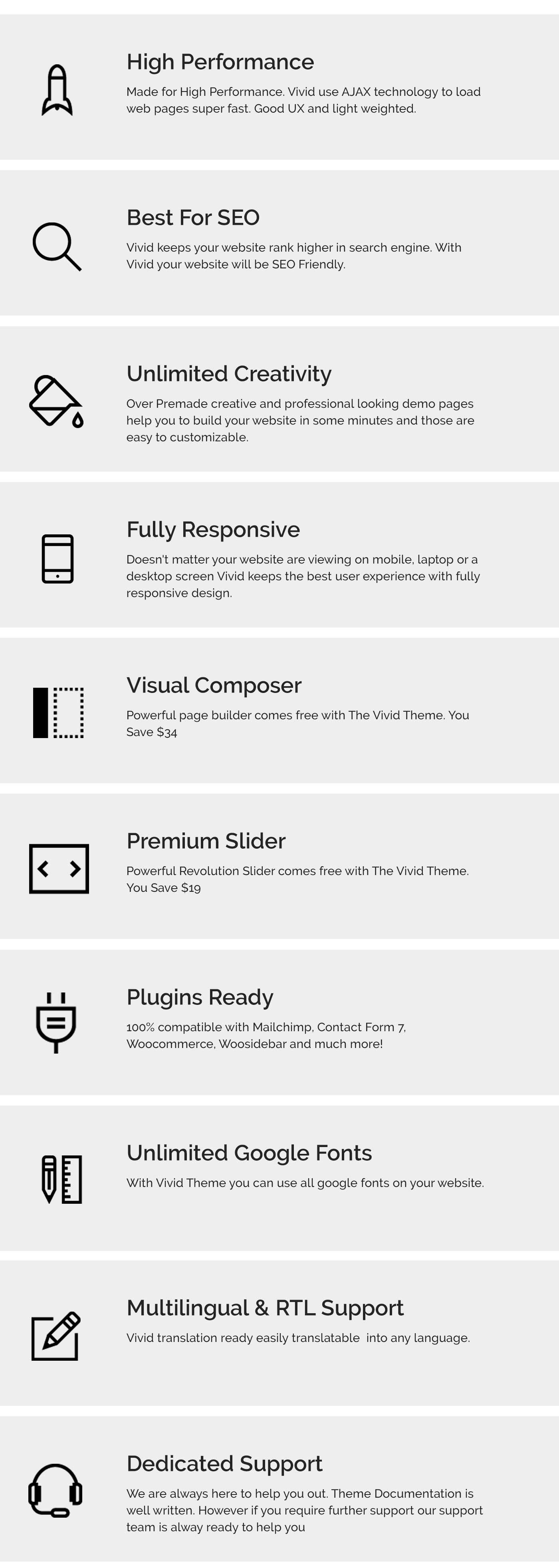 Vivid - Unique Multipurpose Theme For Creative Portfolio & Businesses - 2