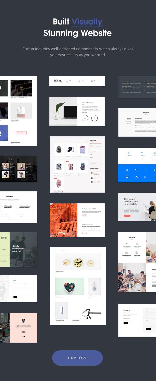 Fortun | Multi-Concept WordPress Theme - 4