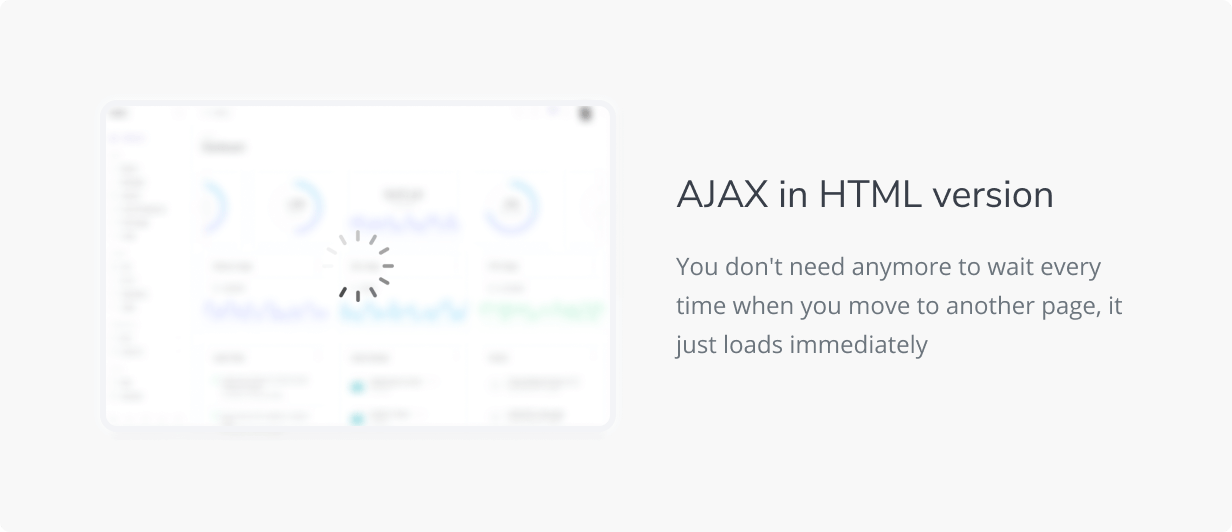 HTML with AJAX