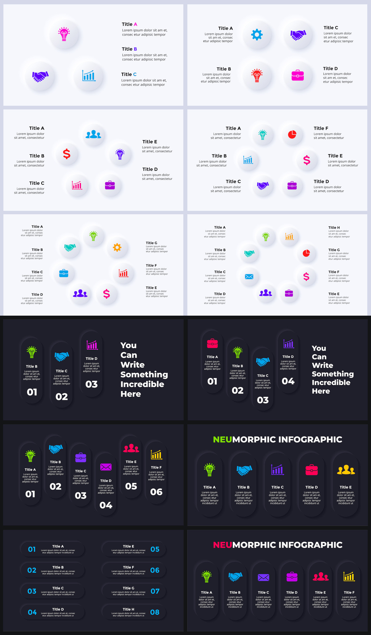 Huge Infographics Bundle! Lifetime Updates! PowerPoint, Photoshop, Illustrator. - 178