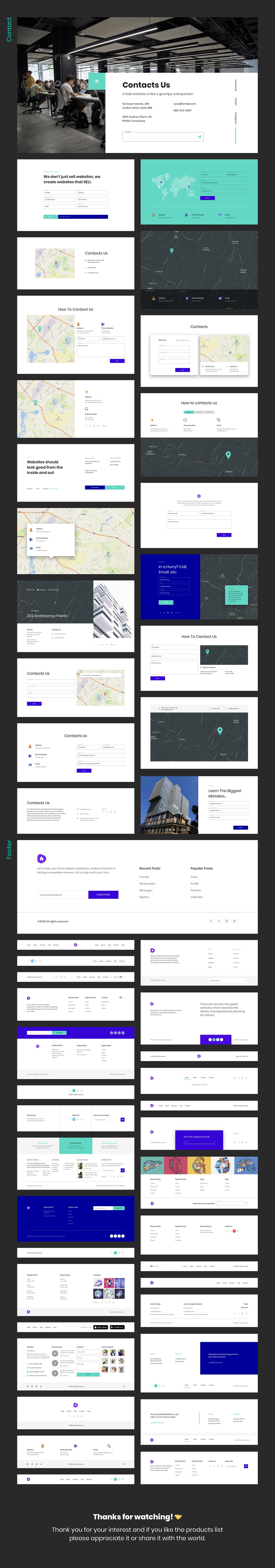 Ataman UI Kit - Templates For Website [Figma] - 9