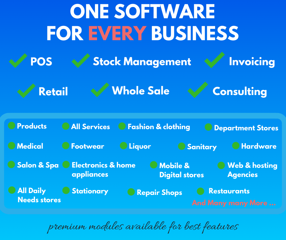 POS application for every business