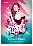 Sweet Flower Flyer