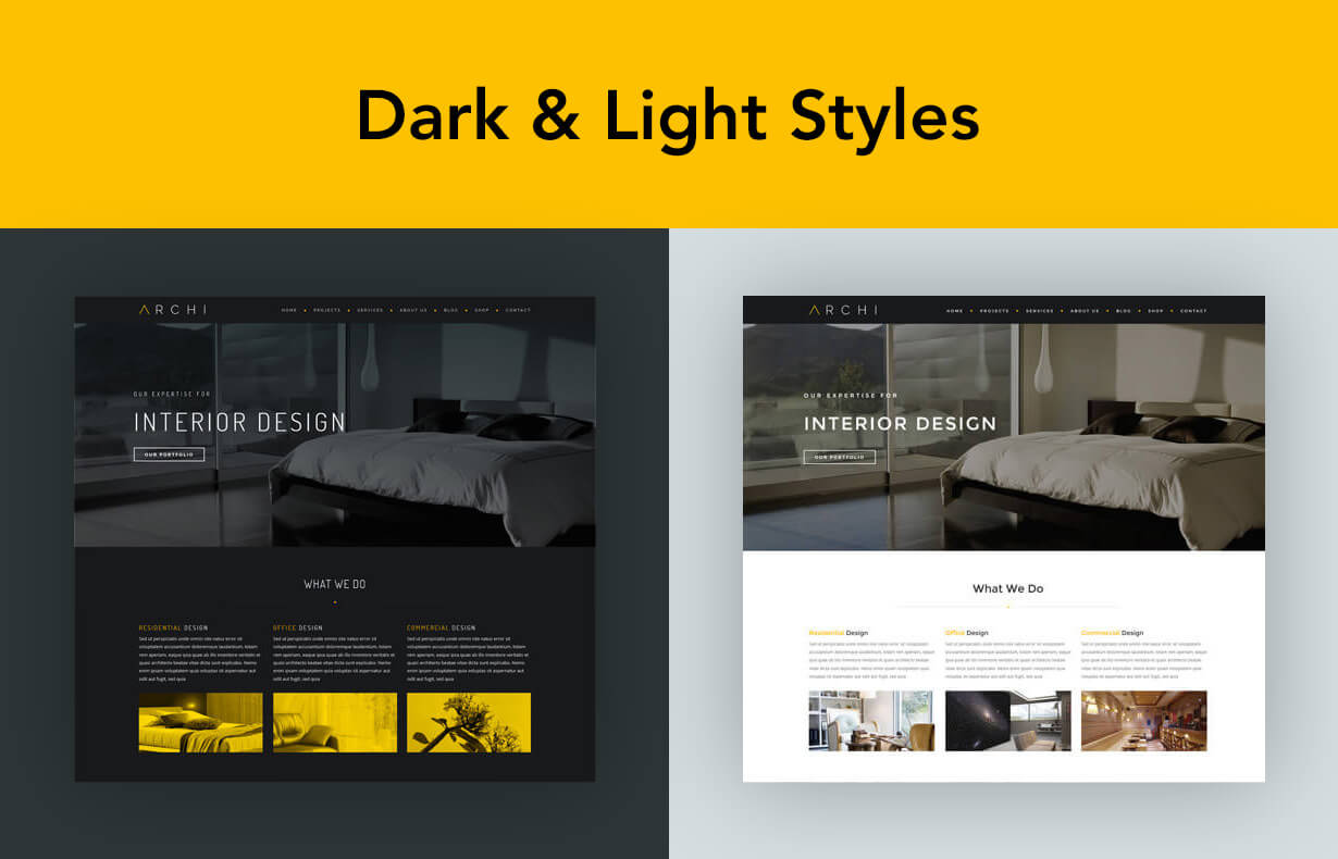 Archi - Interior Design WordPress Theme - 4