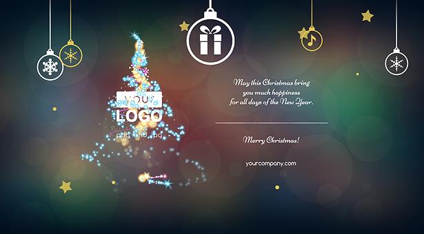 Christmas Card Magic Lights - 6
