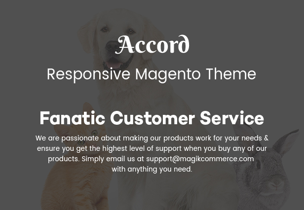 online pet store theme