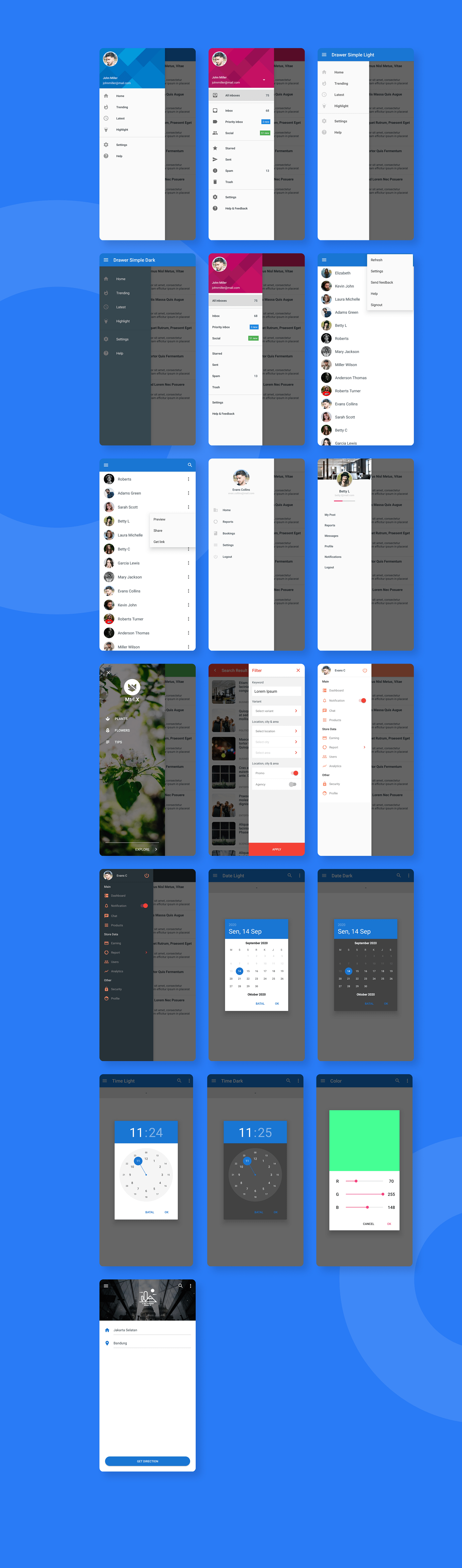 MaterialX - Android Material Design UI Components 2.7 - 18