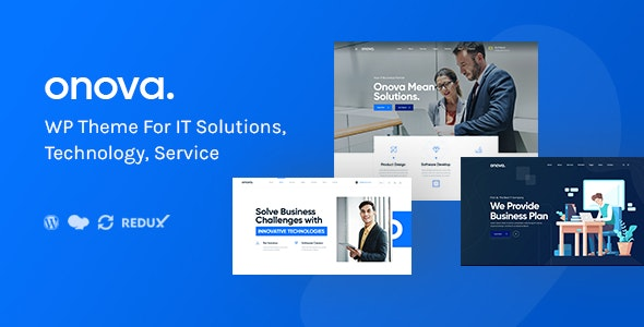 IT Solutions and Services Company WordPress Theme