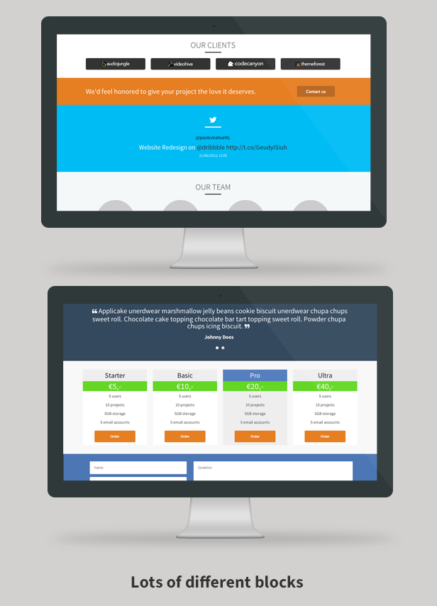 Crtv - Responsive Flat One Page Template - 4