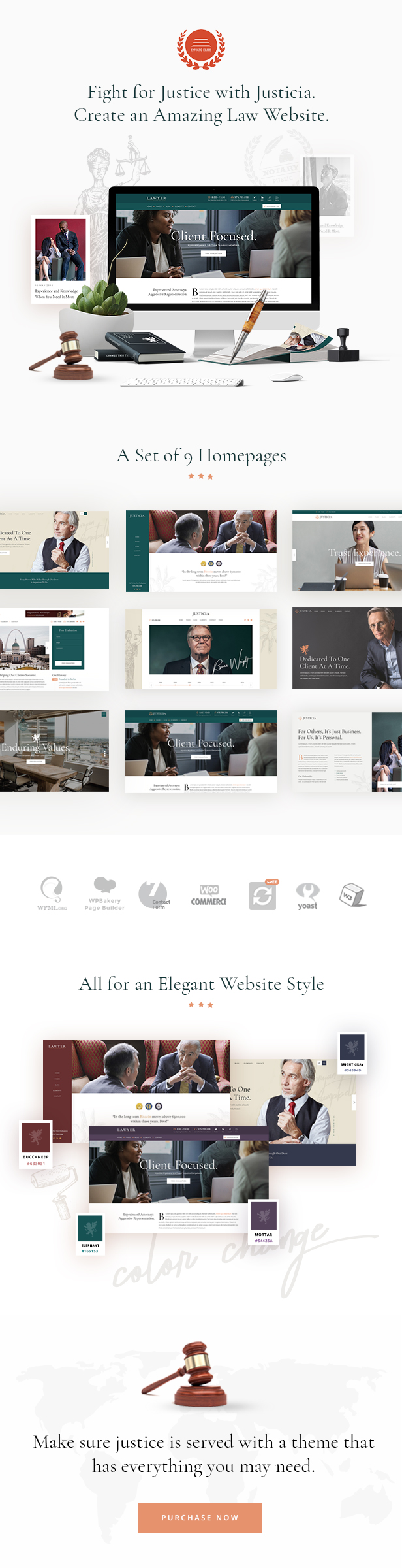 Justicia - Lawyer and Law Firm Theme - 1