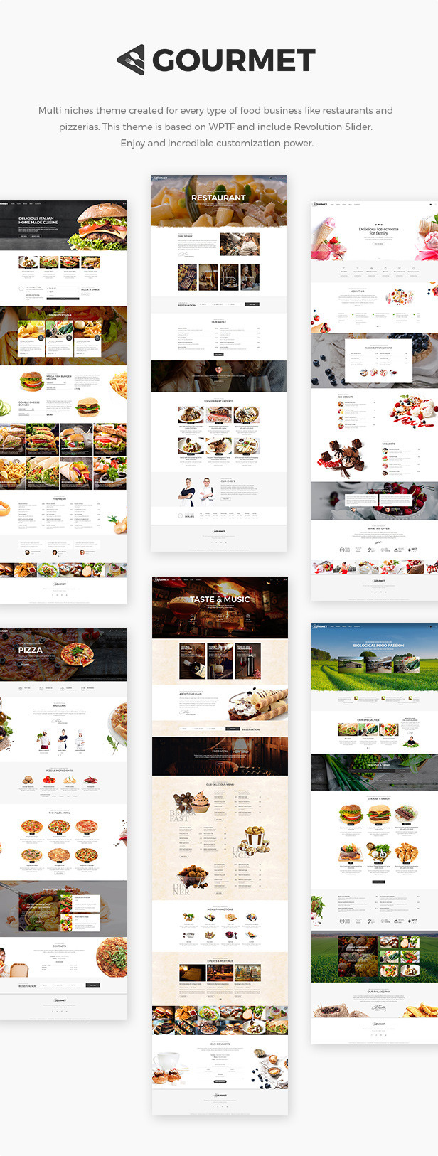 Gourmet - Restaurant And Gastronomy Theme | Restaurant & Food - 1