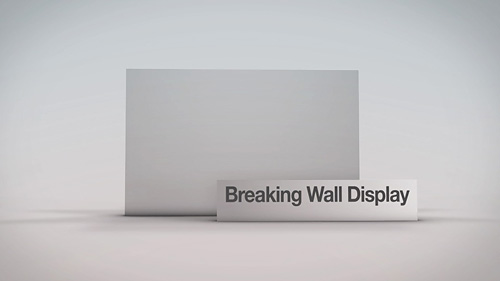 Breaking Wall Display - 1