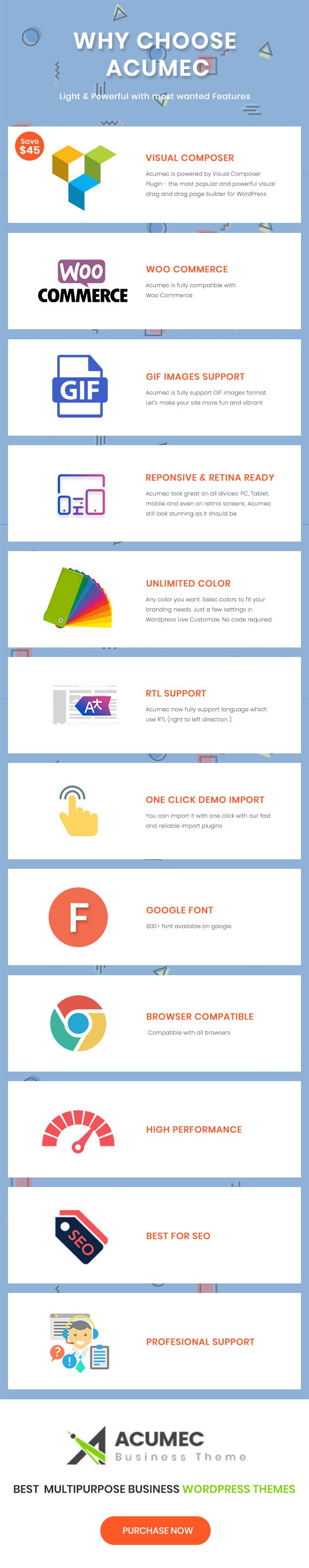 Acumec - Business Multipurpose WordPress Theme - 12
