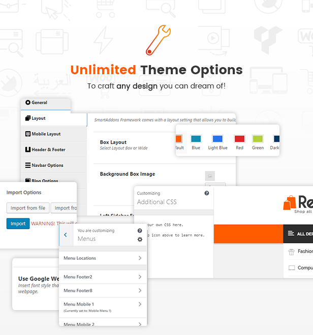 Unlimited Theme Options