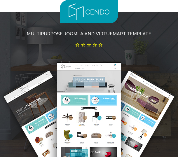 Vina Cendo - Multipurpose Joomla Virtuemart Template by VinaWebSolutions