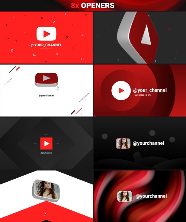 Youtube Pack - 3