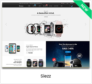 Siezz - Modern MarketPlace WordPress Theme