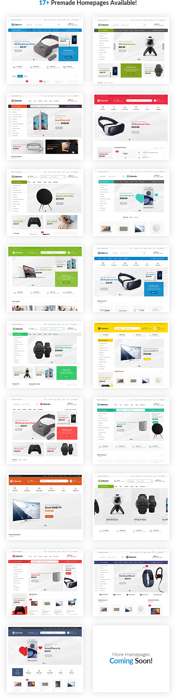 CyberWire   eCommerce WordPress Theme