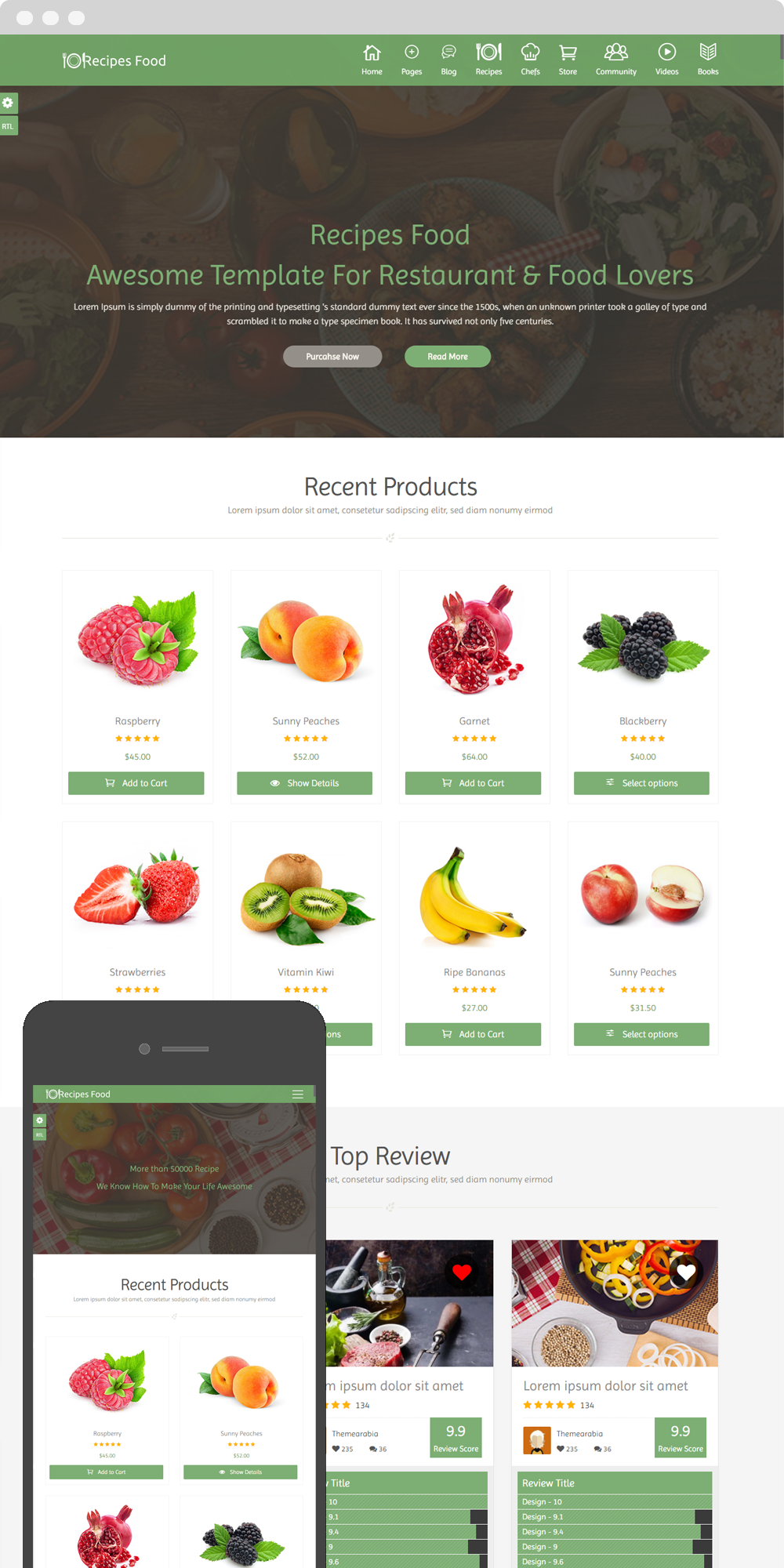 Recipes food food recipes html template by themearabia themeforest food recipe food template will let you share all your recipes it includes 96 hand coded html files the template code is well documented and easily forumfinder Choice Image