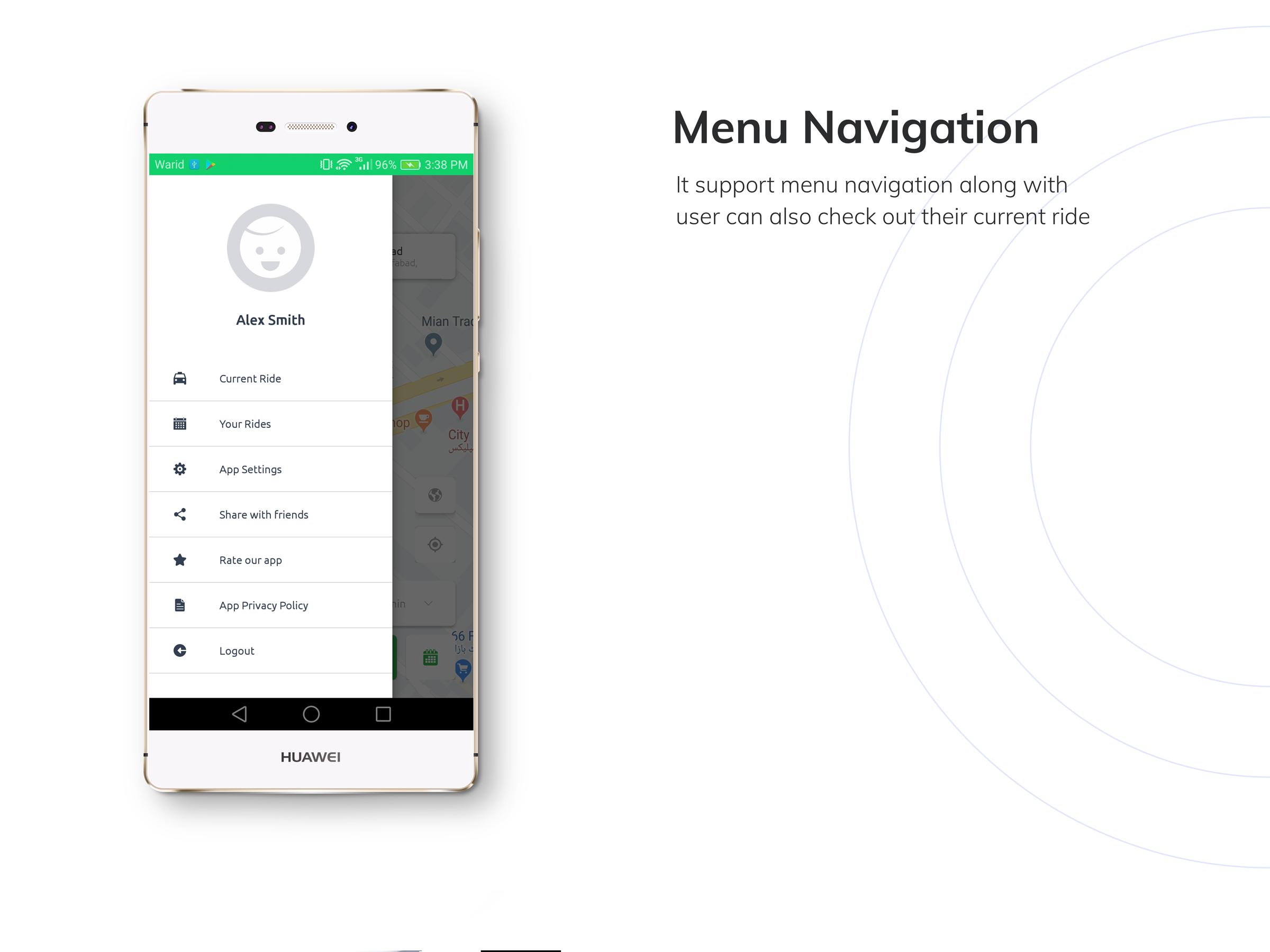 Kareem Taxi App - Cab Booking Solution + admin panel - 8