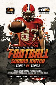 95-Football-flyer-template