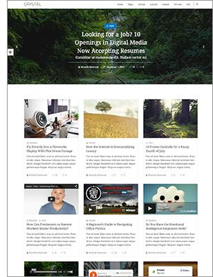 Crystal   Personal Blog WordPress Theme - 10