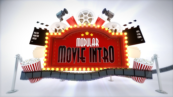 Modular Cinema Intro Logo Reveal - 6