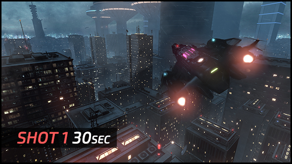 Replicant City - The Arrival (HD) - 2