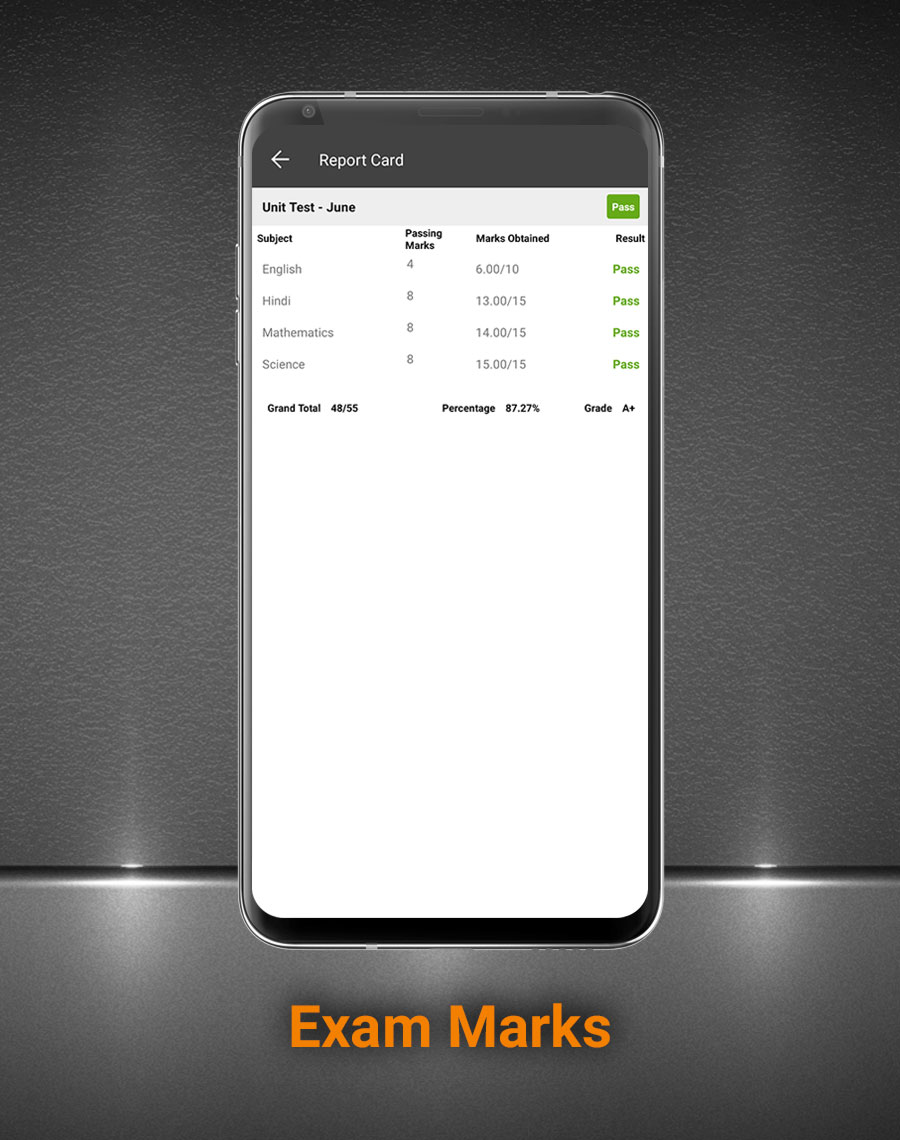Smart School Android App - Mobile Application for Smart School - 15