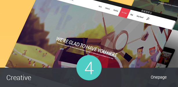 Creative Portfolio WordPress Theme