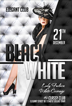 Deluxe White Flyer Template - 1