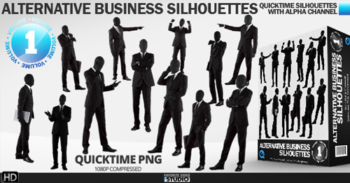 Alternative Business Silhouettes (Vol. 1)