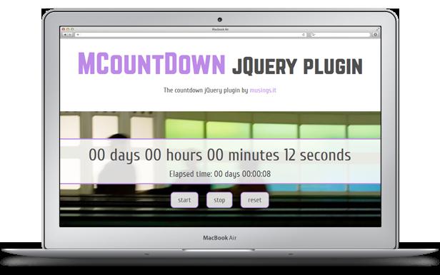 MCountDown - Responsive jQuery Countdown Plugin - 1