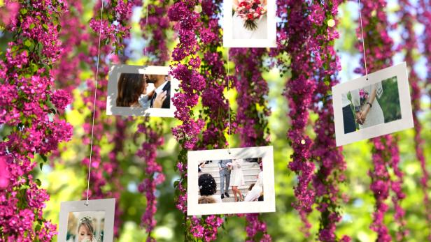 Pink Flowers Wedding Slideshow - 3