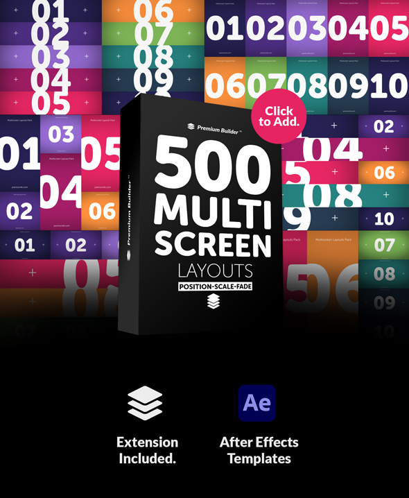 Multi Screen Layouts Pack - 6