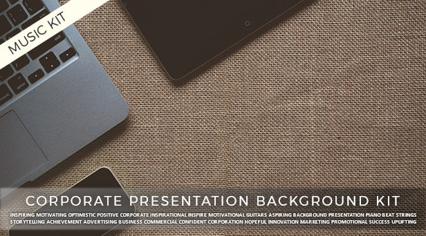 Corporate Presentation Background Kit by McMillenium