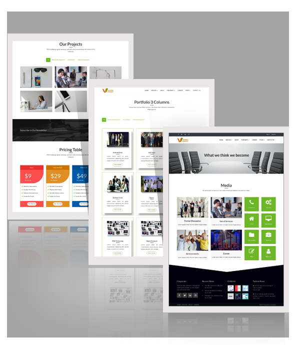 Vedha - Corporate HTML template - 3