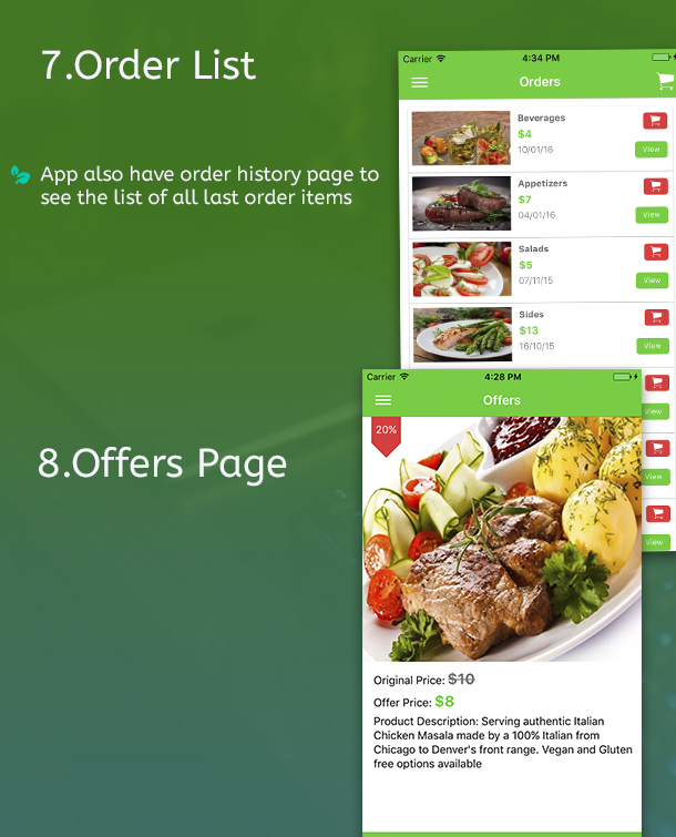 Ionic 3 Restaurant app with Firebase - 10