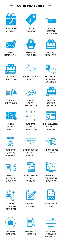 Woocommerce pdf vouchers wordpress plugin by wpweb codecanyon main featurs core featurs fandeluxe Choice Image