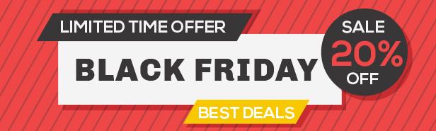 Black Friday Sale - PrestaShop Theme