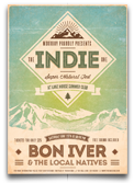 Indie Electronic Flyer/Poster - 16