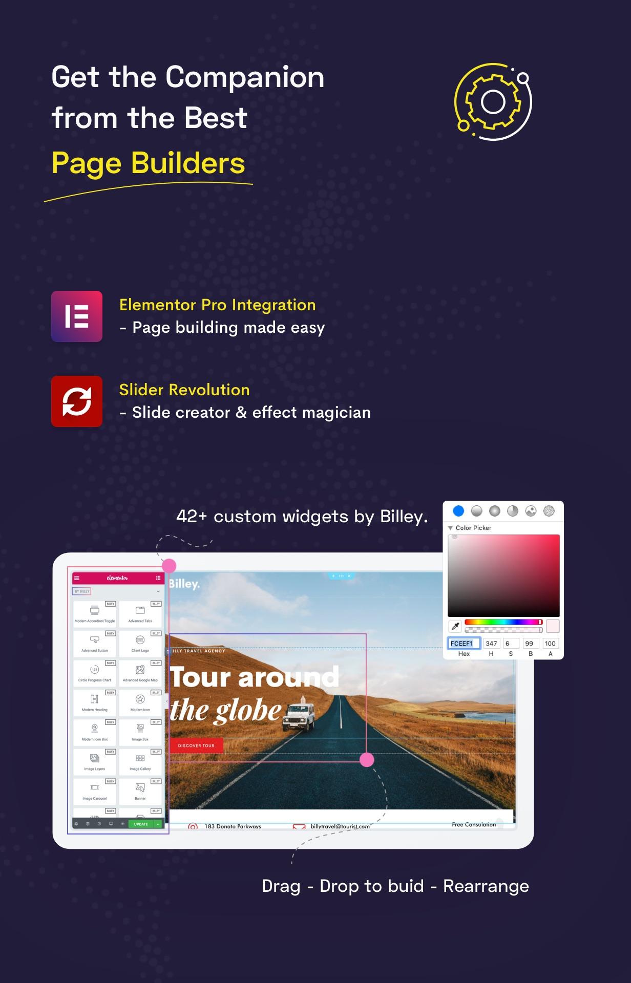 Billey - Creative Portfolio & Agency WordPress Theme - 7