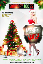 Christmas Night Party Flyer - 1