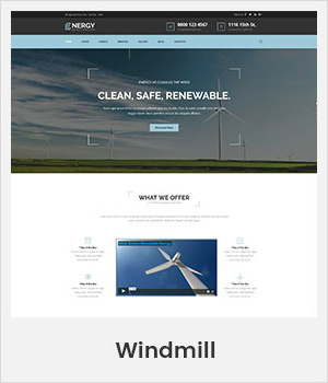 Windmill WordPress theme