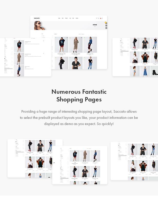 Fantastic Shop Page Styles