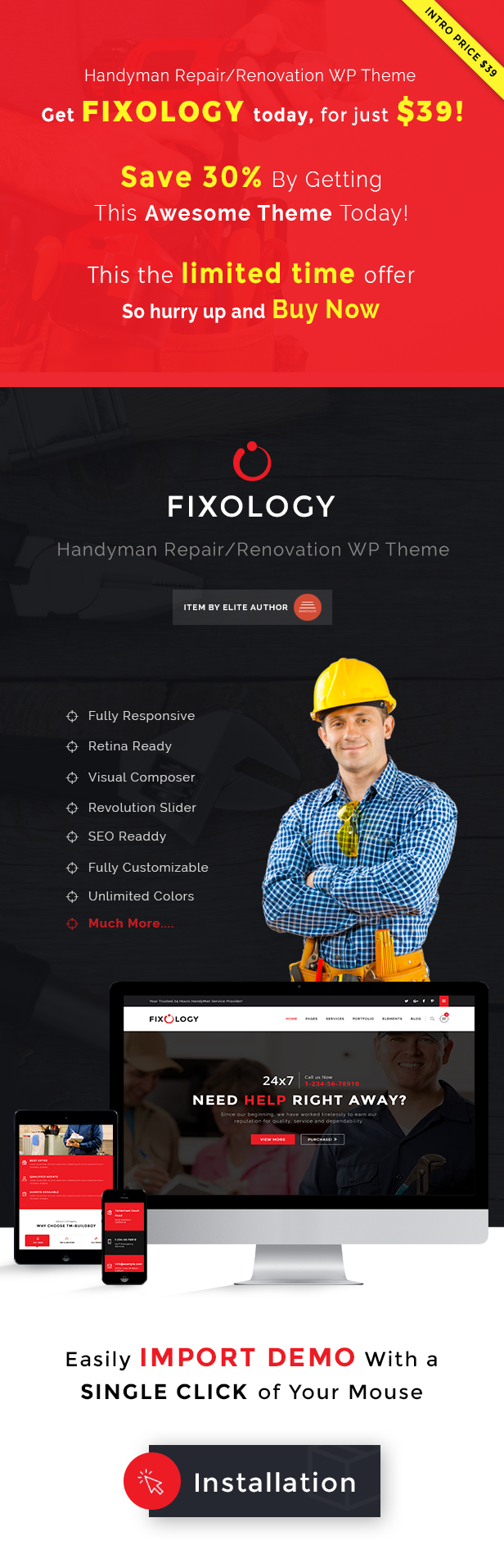 Fixology WordPress Theme