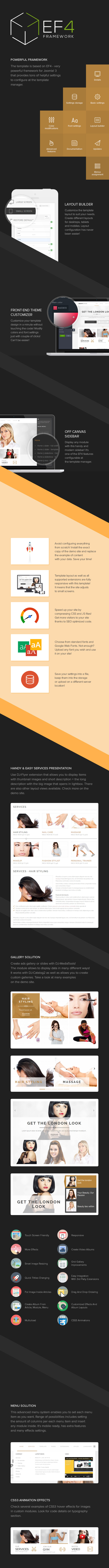 Joomla beauty services template by Joomla-Monster