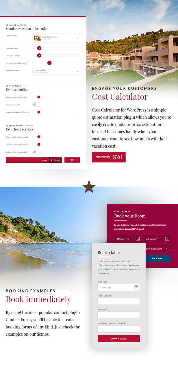 Hotel & Hostel Wordpress Theme - Hotel California - 3